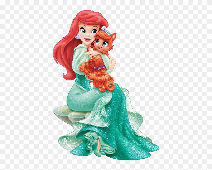 Disney Princess Ariel With Cute Kit.