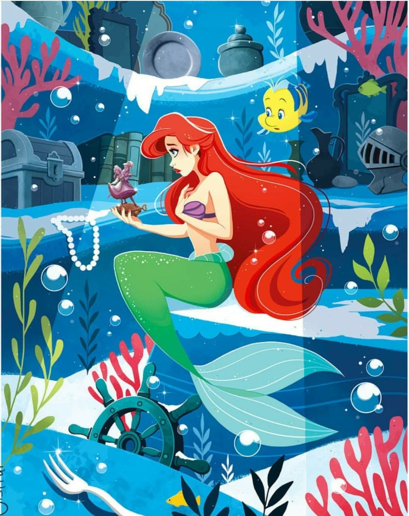 Ariel s grotto clipart clipart images gallery for free.