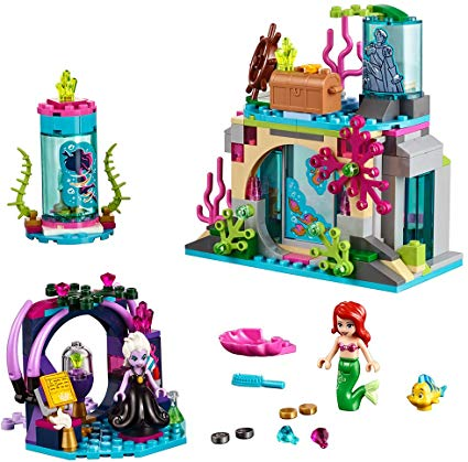 LEGO Disney Princess Ariel and The Magical Spell 41145 Building Kit (222  Piece).
