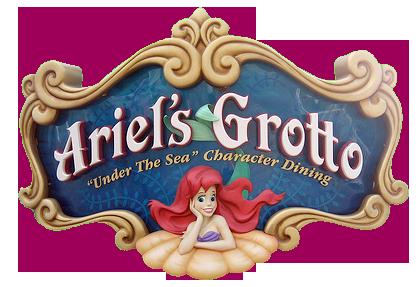 Ariel\'s Grotto.