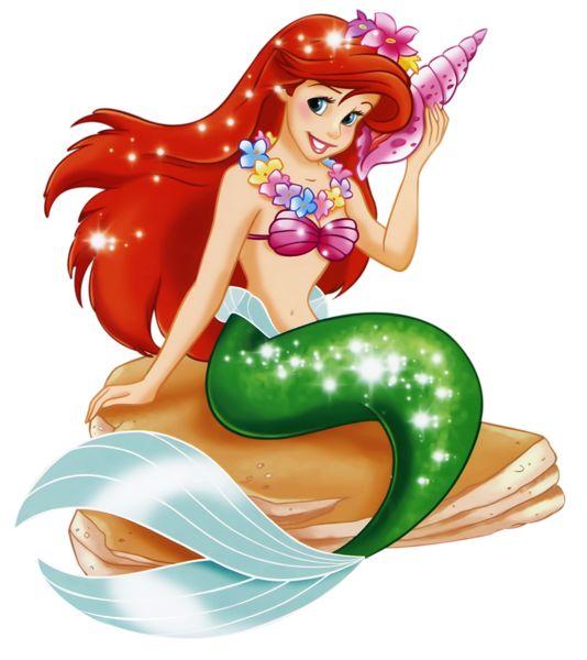 ariel the little mermaid clipart #1