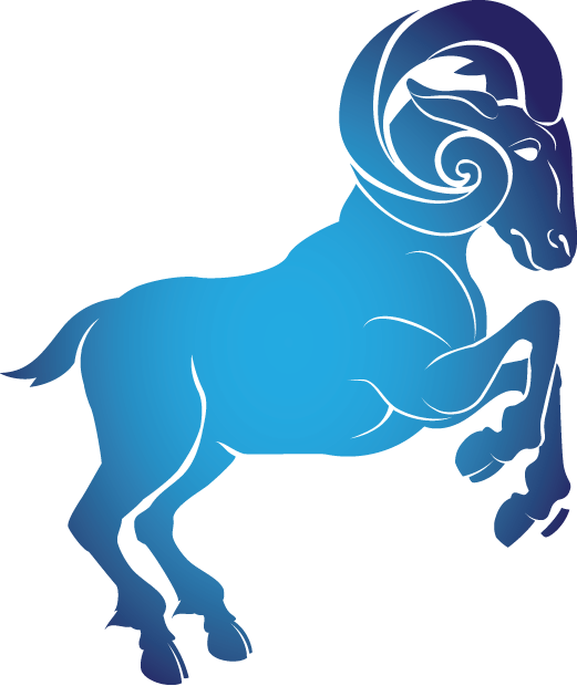 Horoscope Sign Aries Clipart transparent PNG.