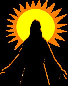 Faith Arise Sunrise Clip Art at Clker.com.