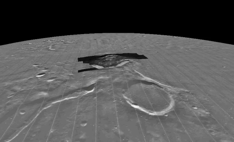 Aristarchus Crater Flyover.