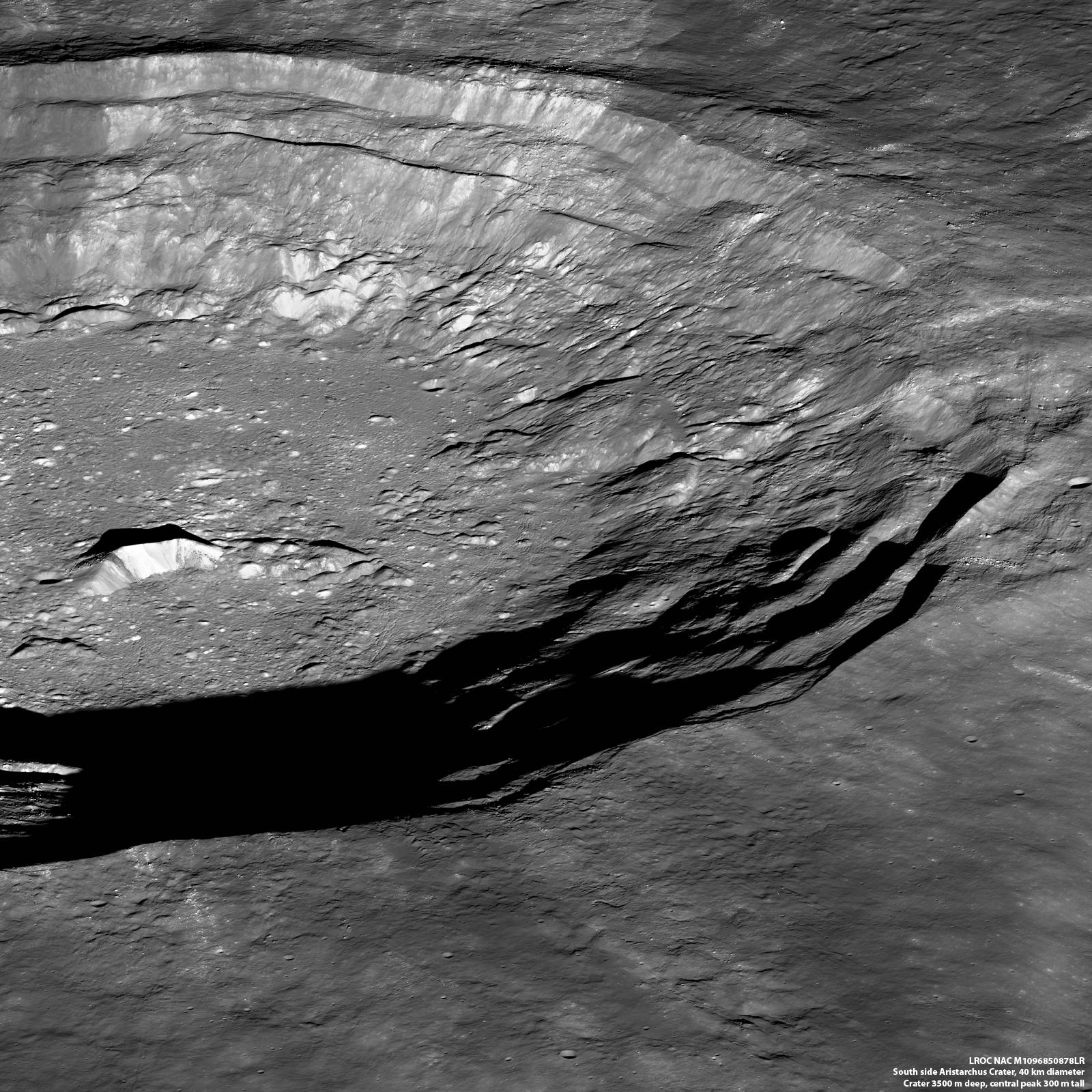 Lunar Pioneer: Southside, Aristarchus Crater.