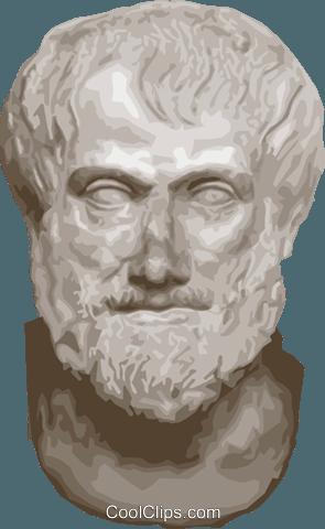 Aristóteles livre de direitos Vetores Clip Art ilustração.