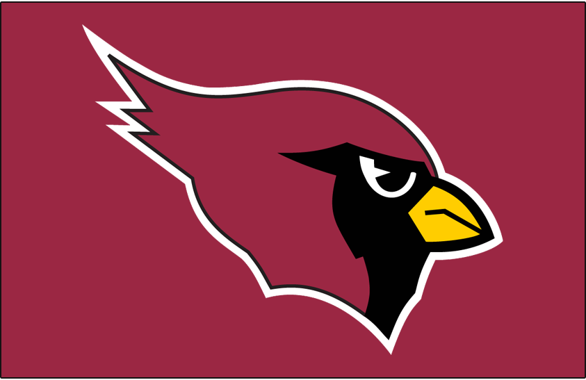 Arizona Cardinals Primary Dark Logo.