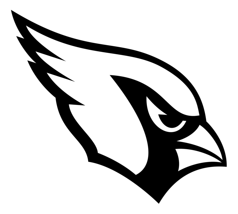 Download Free png Arizona Cardinals logo black.