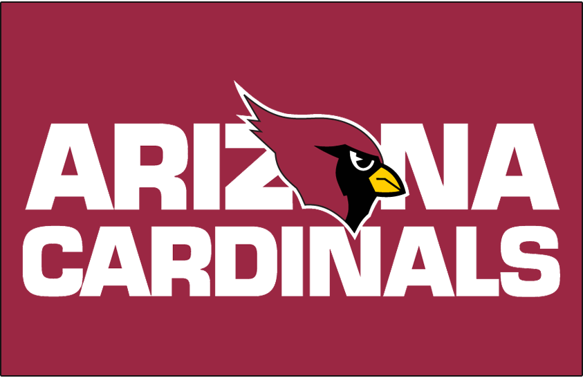Arizona Cardinals Wordmark Logo.