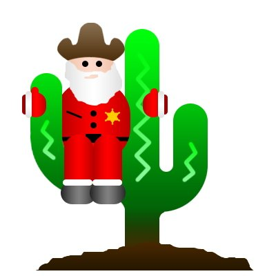 Arizona christmas clip art.