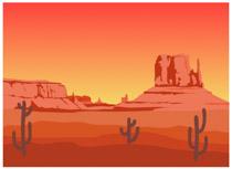 Fifty States: Arizona Clipart.