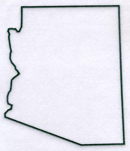 Arizona clipart outline.