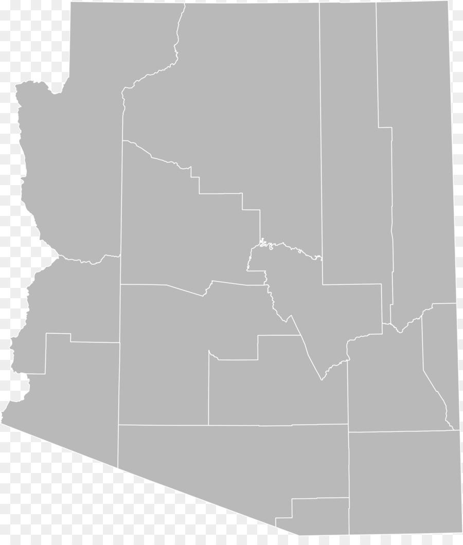 Arizona Blank map Clip art.