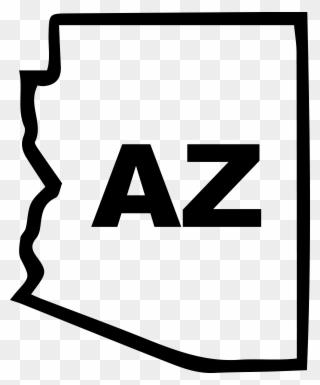 Mojilife Badges State Clubs Arizona 800px Clipart.