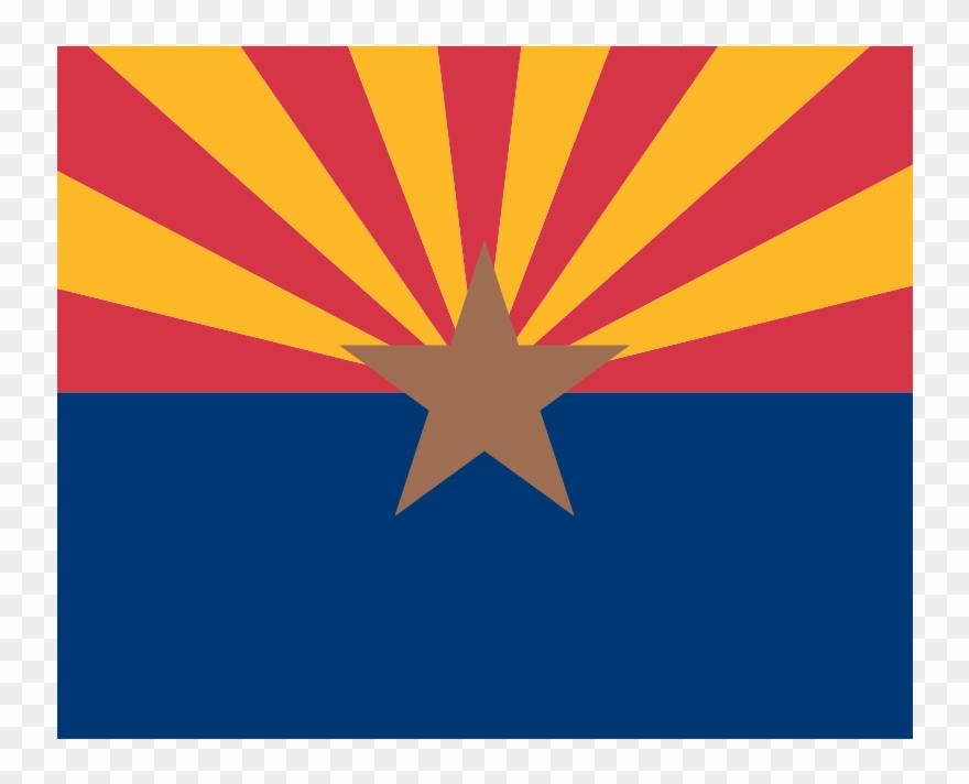 Arizona Flag Vector.