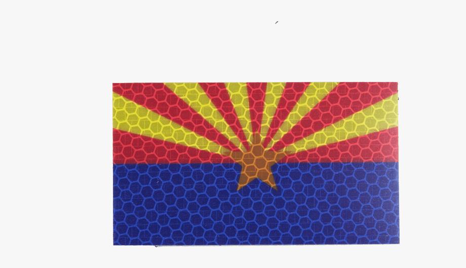 Arizona Flag Png.