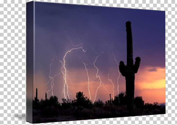 Sonoran Desert Sky Arizona Landscape Energy, energy PNG.
