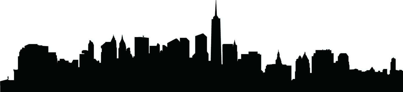 Gotham City Skyline Silhouette at GetDrawings.com.