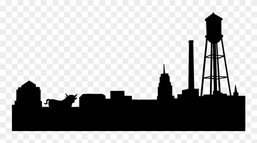 City Of Durham Skyline Clipart (#632460).