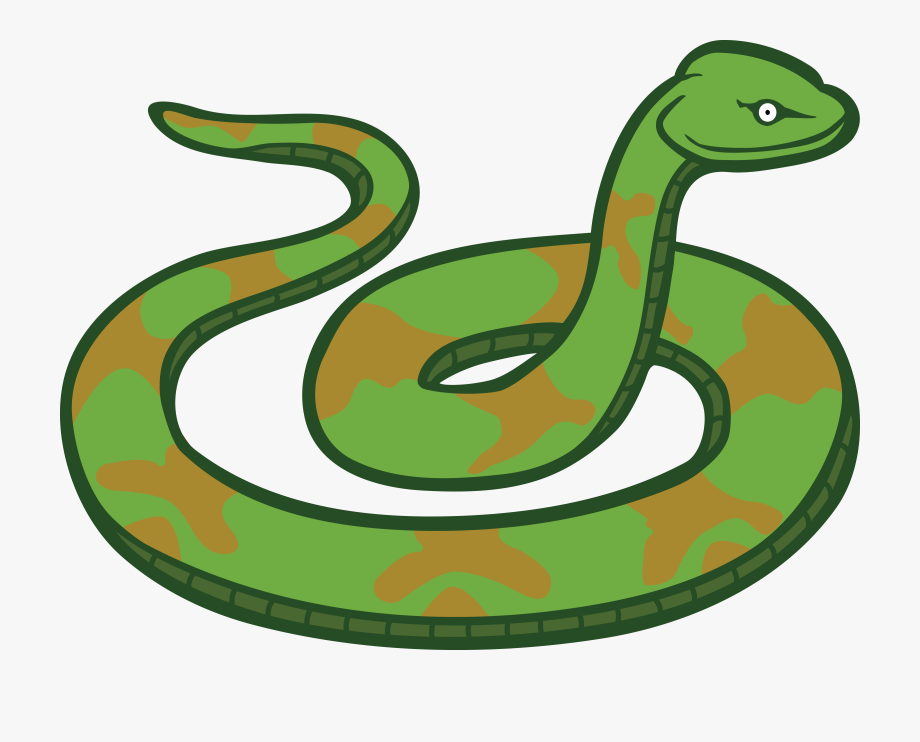 Free Clipart Of A Snake.