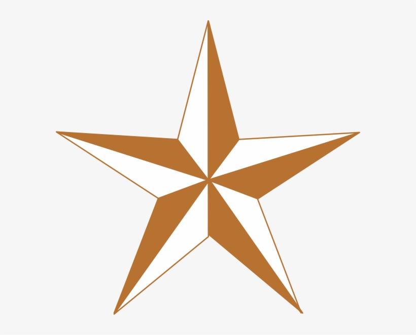 Arizona Copper Star Clip Art.