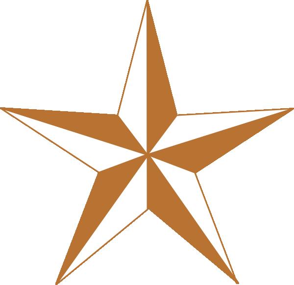 Arizona Copper Star Clip Art at Clker.com.