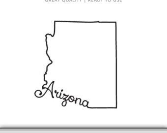 Arizona Outline Vector at GetDrawings.com.