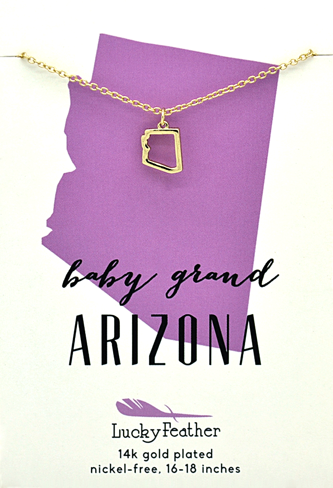 Arizona State Necklace.