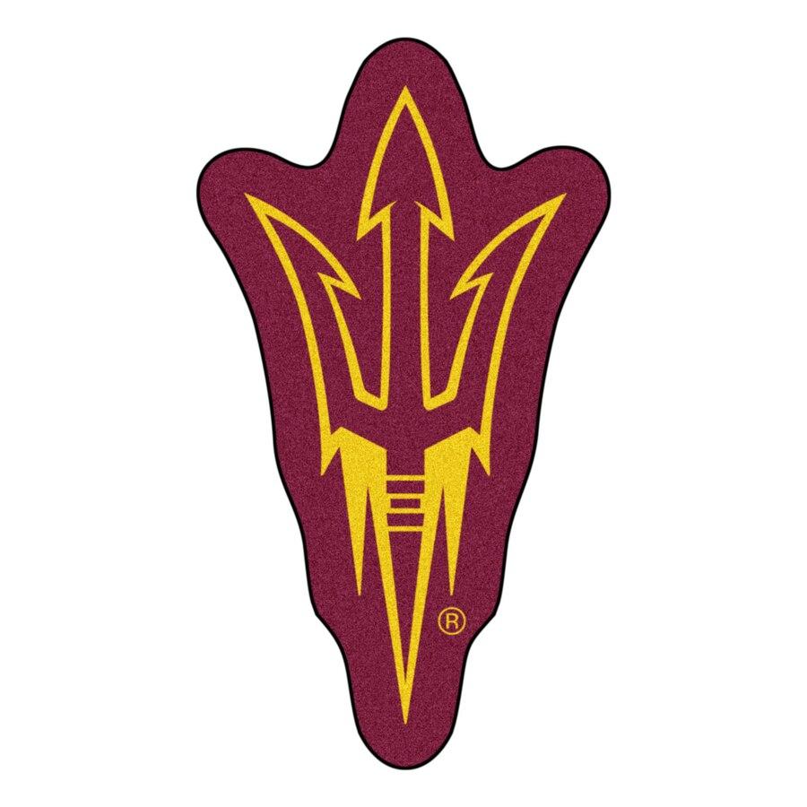 Arizona State Sun Devils 36\'\' x 21\'\' Logo Mat.