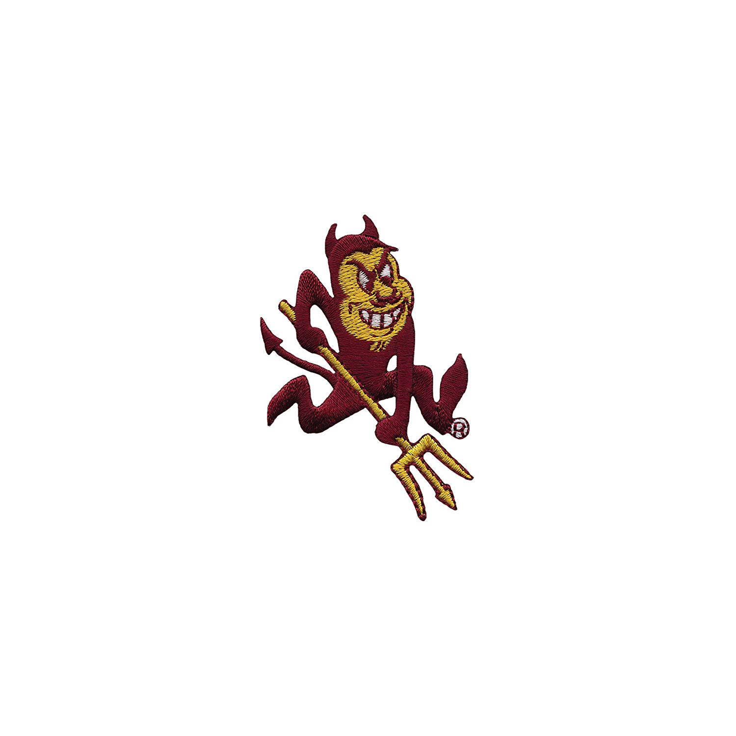 Tervis 1084539 Arizona State Sun Devils Sparky Mascot Tumbler with Emblem  and Black Lid 24oz, Clear.