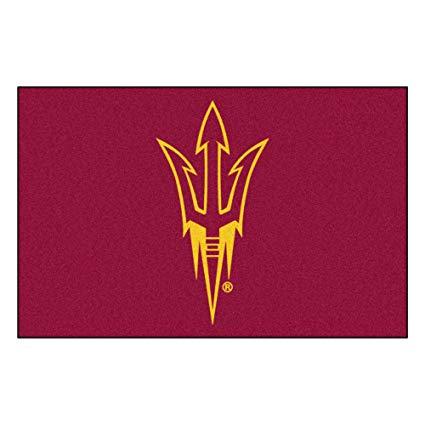 Amazon.com : Arizona State University Logo Area Rug : Sports.