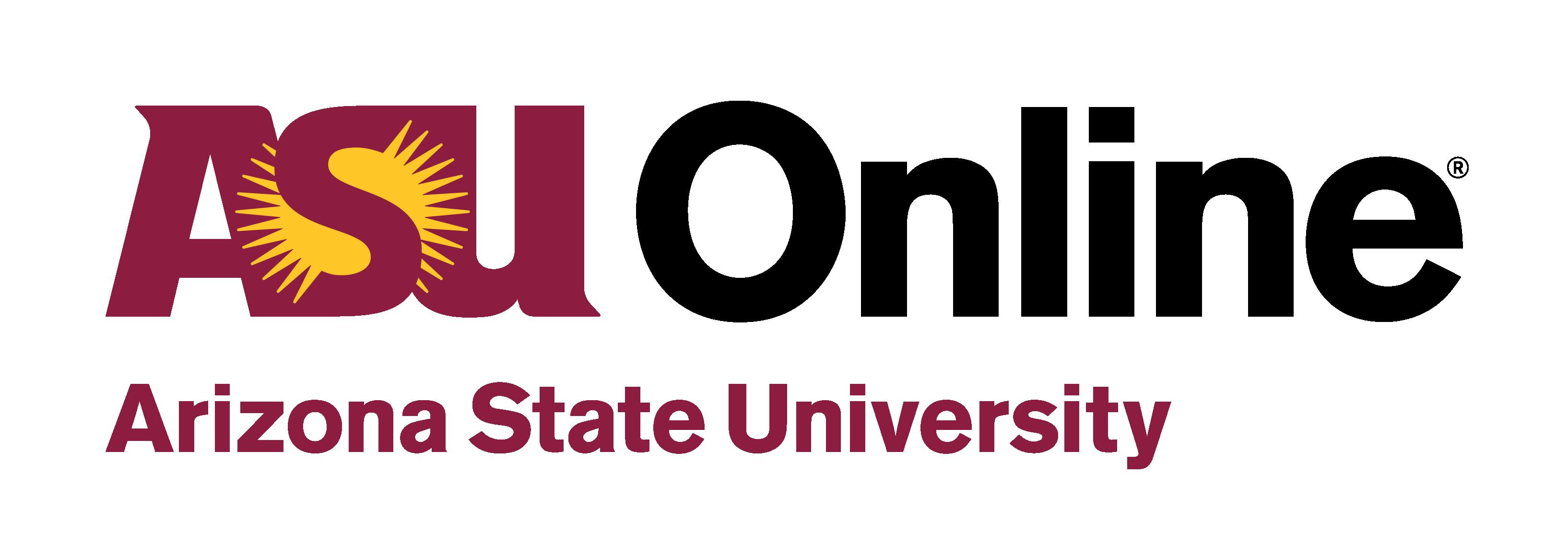 ASU Online logo 2018.