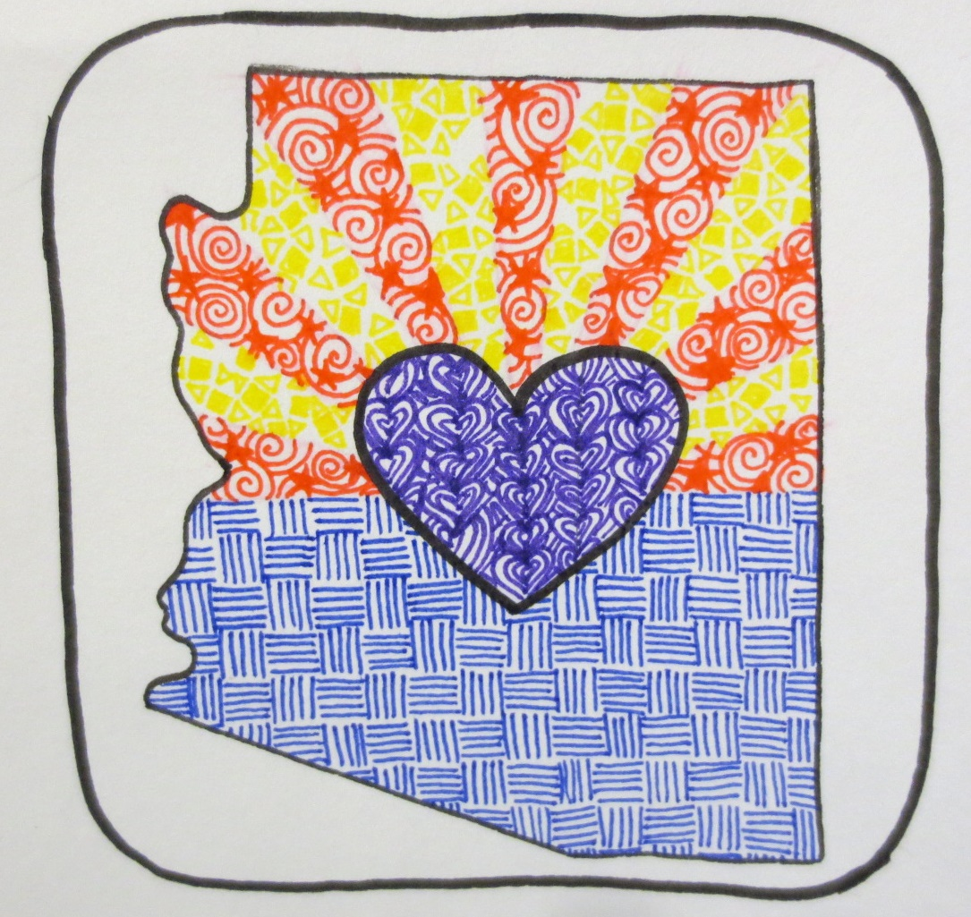Showing post & media for Arizona statehood symbol.