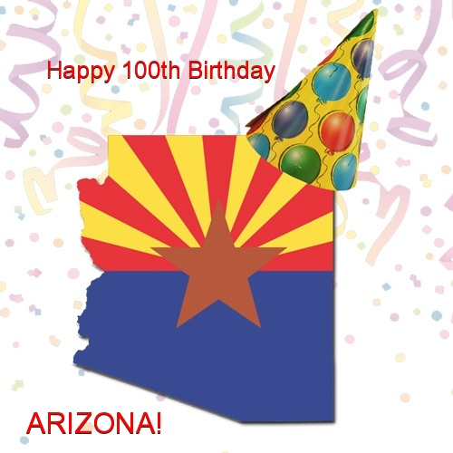 Arizona Statehood Day Clipart