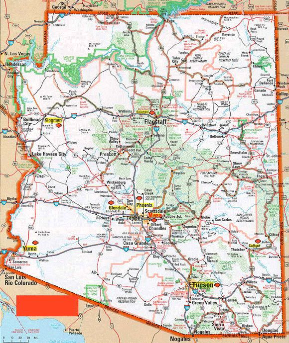 Az Topographic Map.Arizona Topographic Map Clipart Clipground
