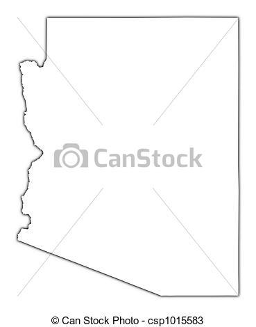 Arizona clipart outline.