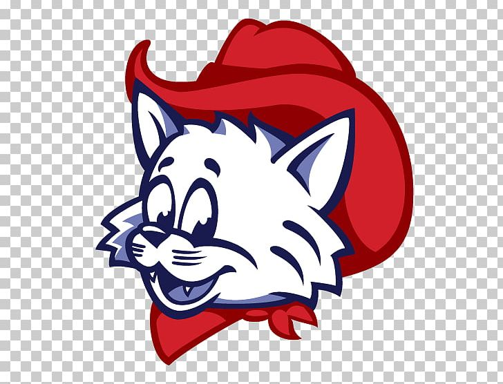 Wilbur And Wilma Wildcat Mascot Logo University Of Arizona PNG.