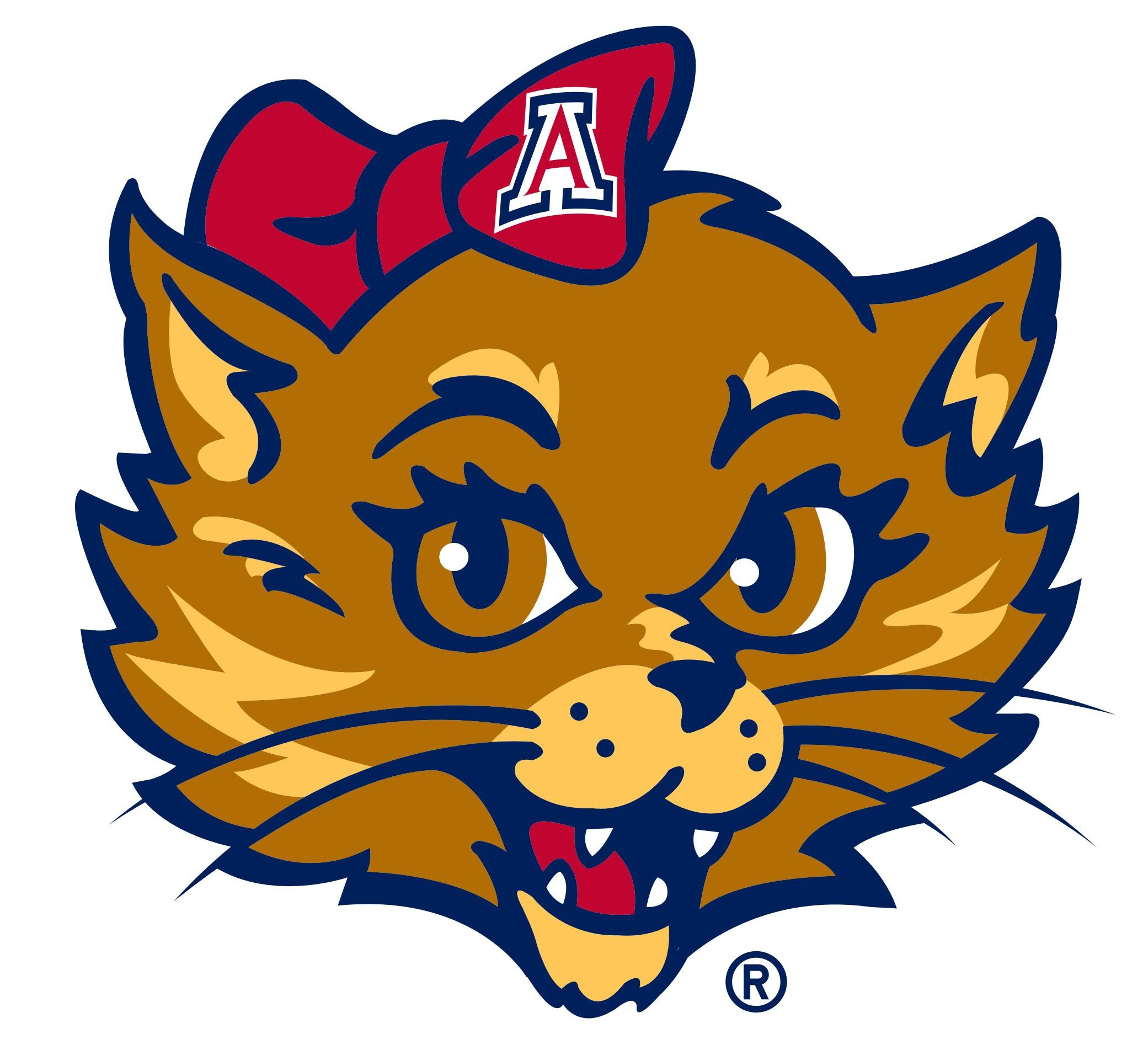 University of Arizona Seal and Logos Vector Icon Template Clipart.