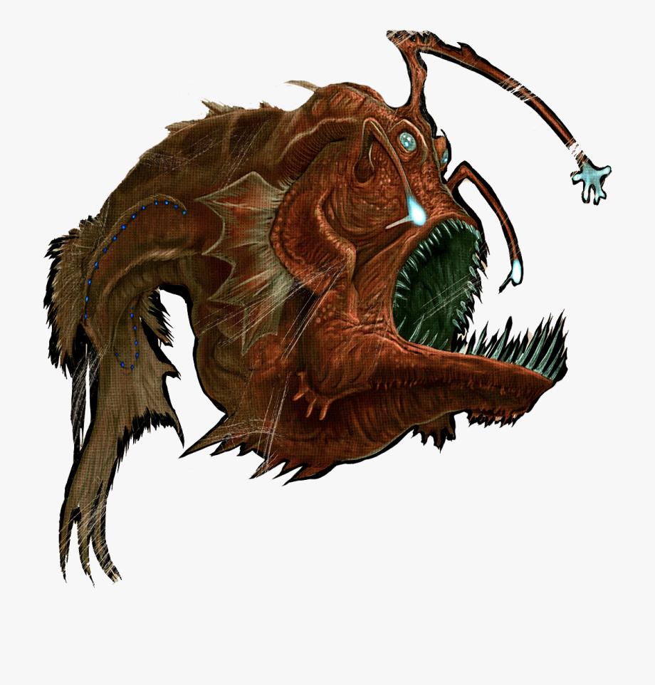 Clip Art Anglerfish Ark.