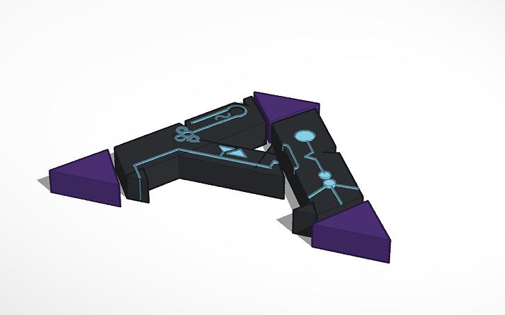 3D design ARK: Survival Evolved Aberration Logo.
