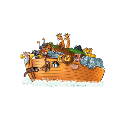 Noah\'s Ark Illustration transparent PNG.