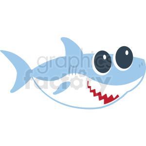 baby shark cut file clipart. Royalty.