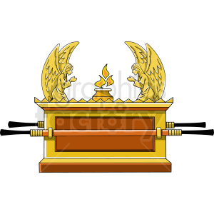 ark of the covenant clipart. Royalty.