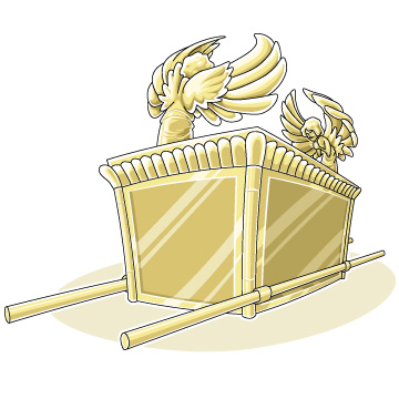 Christian clipArts.net _ The Ark of the Covenant.