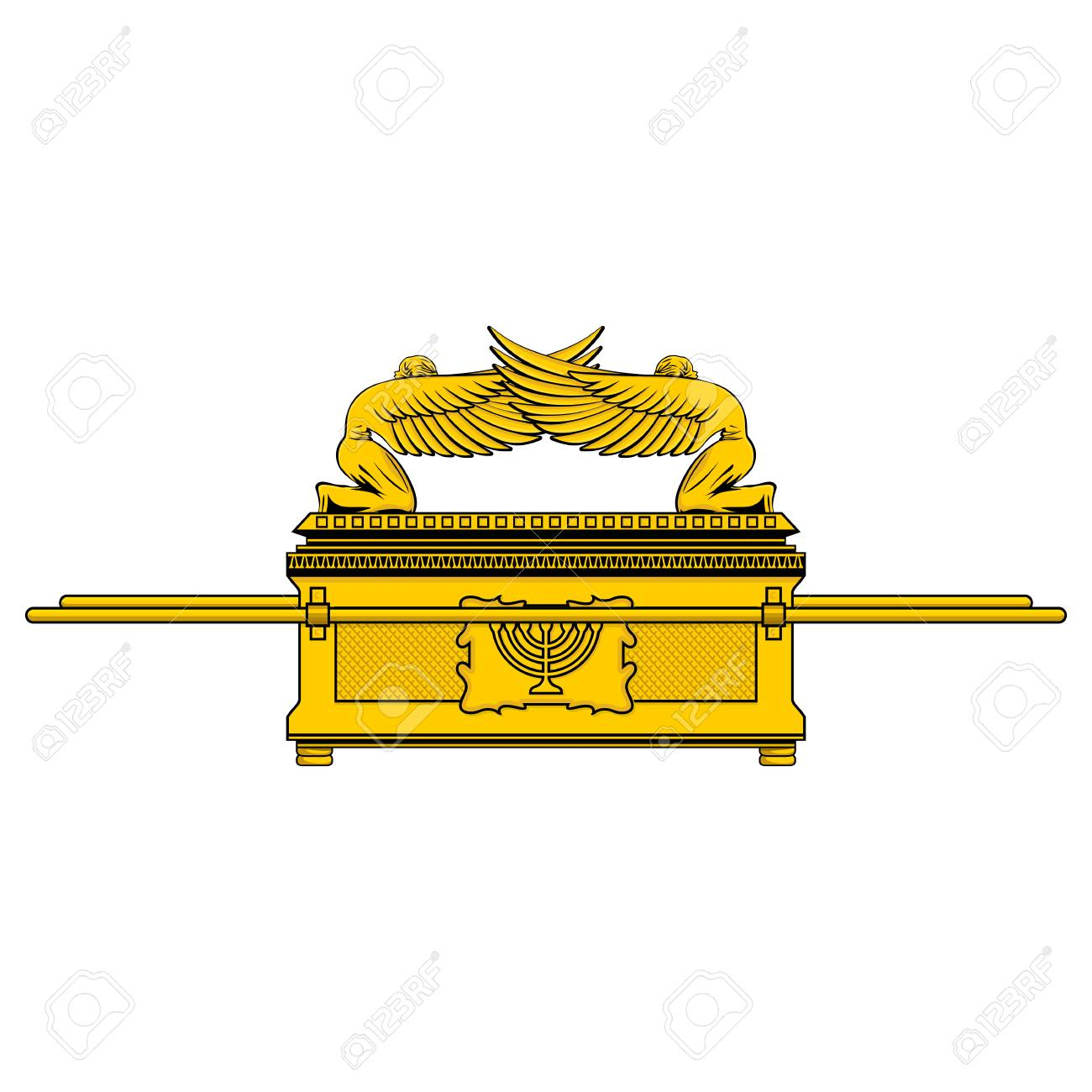 The Ark of the Covenant is the shrine of the Jewish people.