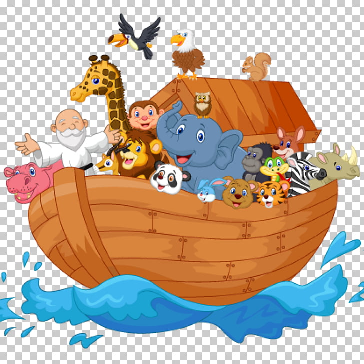 Bible Noah\'s Ark , others, animals illustation PNG clipart.