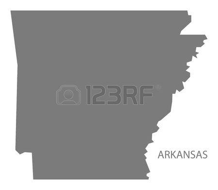 982 Arkansas Map Stock Vector Illustration And Royalty Free.