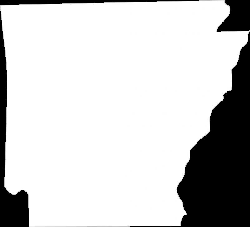 Arkansas State Silhouette.