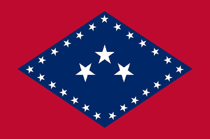 Flag Of Arkansas Confederate States Of America State Flag.