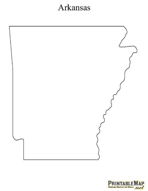Printable State Maps.